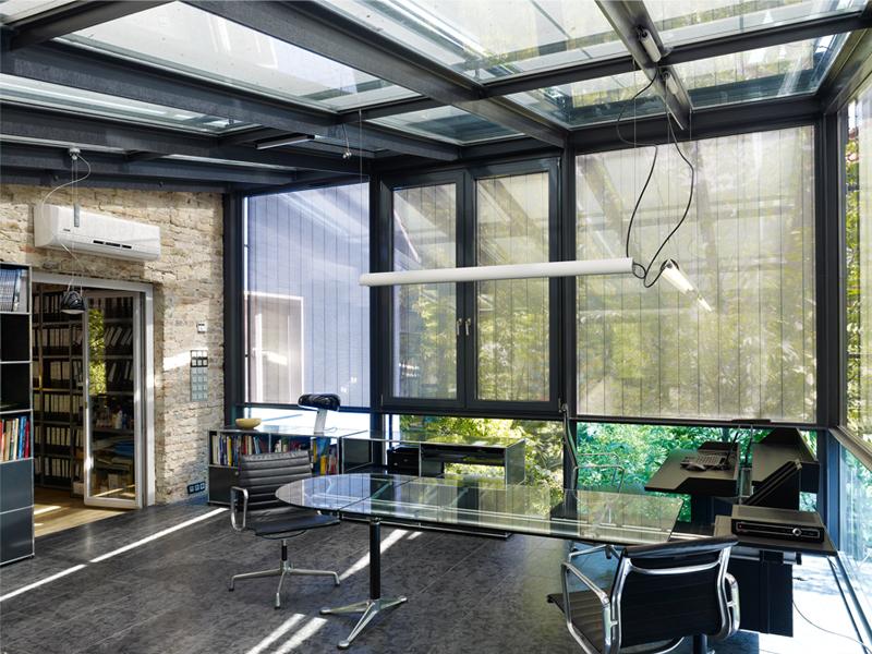 glashaus spanische allee berlin schlachtensee wohnungsbau projekte anja beecken architekten. Black Bedroom Furniture Sets. Home Design Ideas